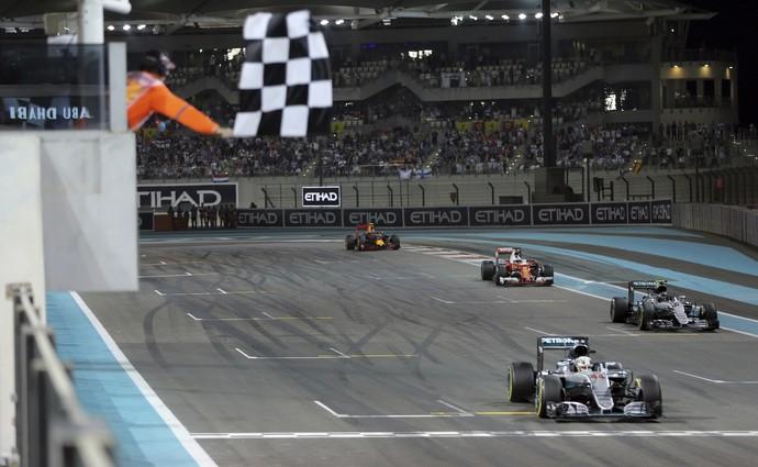 Nico Rosberg Fórmula 1 GP Abu Dhabi campeão (Foto: AP Photo/Kamran Jebreili)