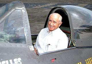 Brigadeiro Moreira Lima Senta a Pua (Foto: Agência Força Aérea)