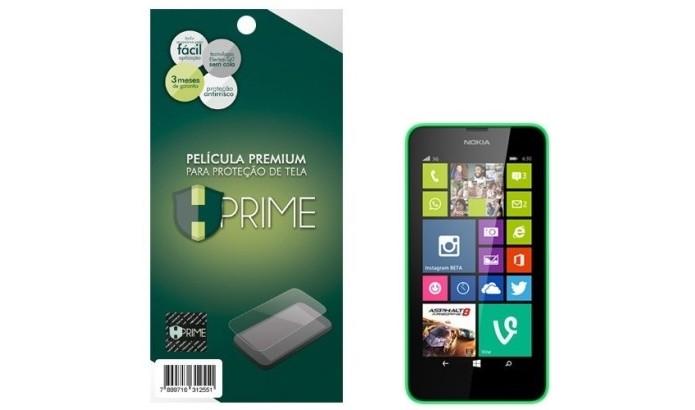 Película de tela transparente para Lumia 630 (Foto: Divulgação/Hprime)