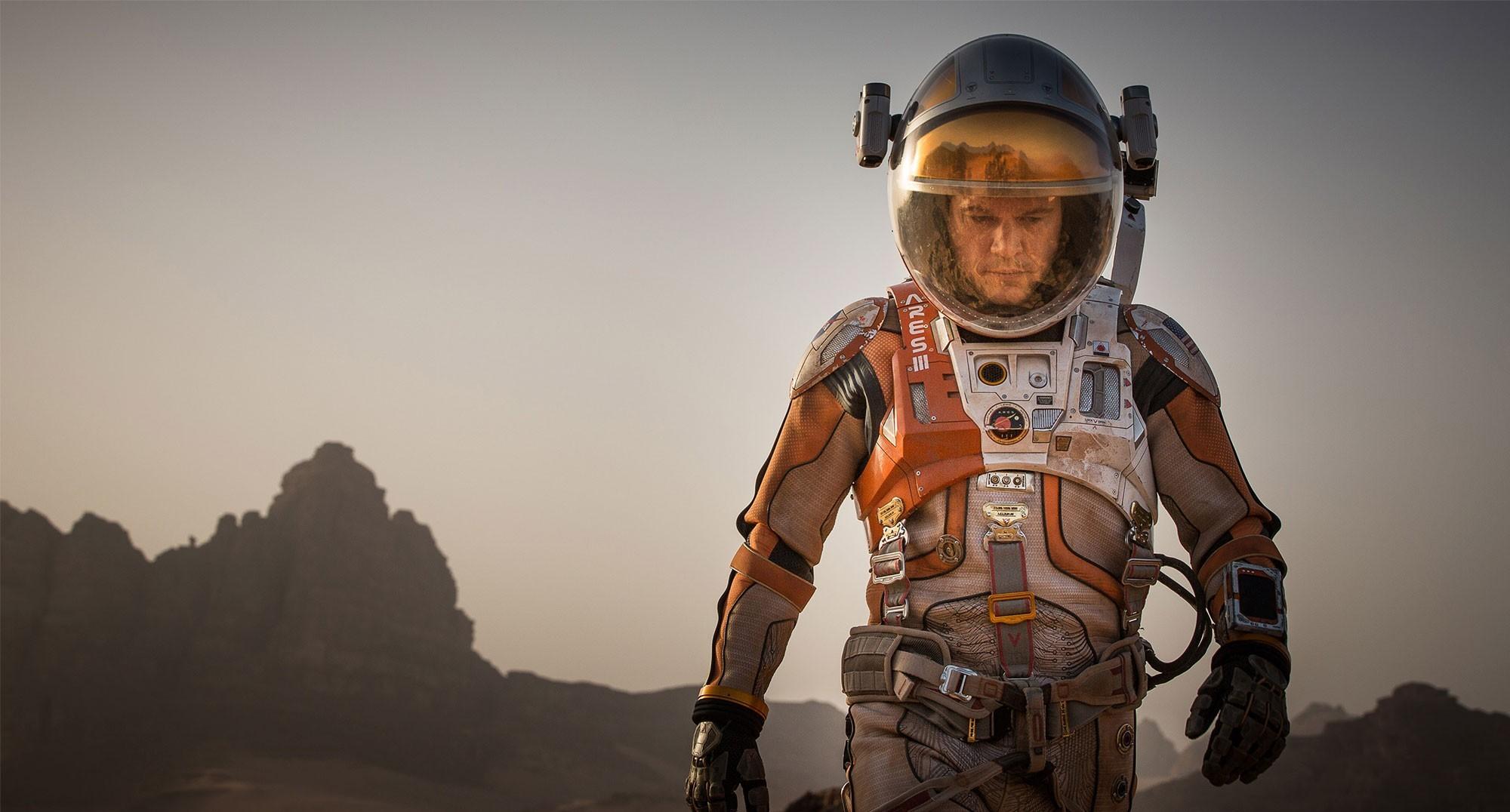 Água em Marte e filme com Matt Damon: coincidência ou conspiração?