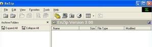EnZip, compactar arquivo