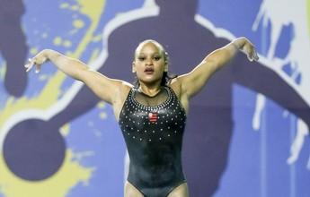 Rebeca Andrade e Thaís Fidelis levam título brasileiro do individual geral