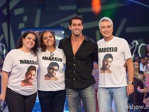 eliminacao; marcelo; ao vivo; galeria; materia  (Foto: Camila Serejo / TV Globo)