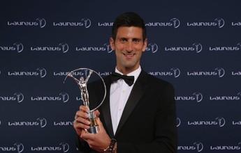 Djokovic supera Messi, Bolt e Curry e  é eleito o atleta do ano no Laureus