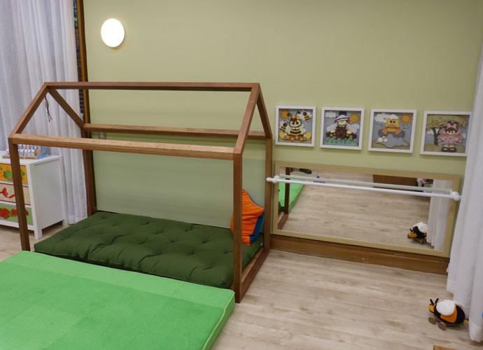 Quarto Montessoriano foi montado no 'É de casa' (Foto: Renata Viot/Gshow)