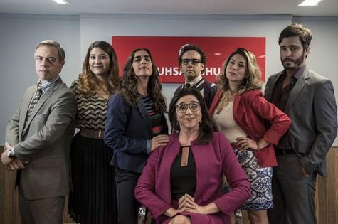 Elenco de 'Odeio segundas' (Foto: Divulgação GNT)