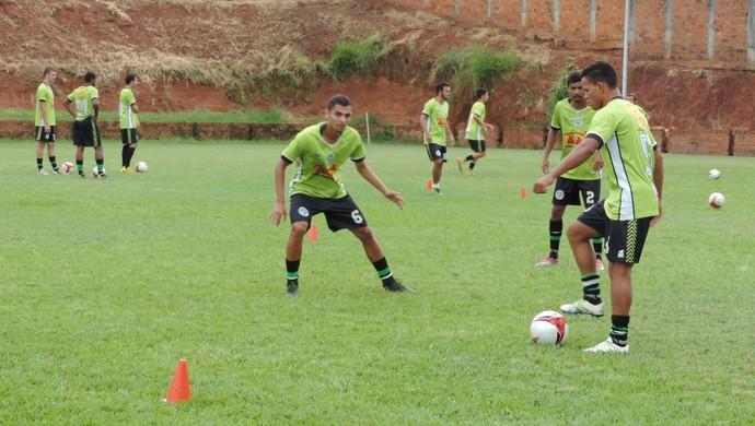 Treino do Presidente Prudente, PPFC (Foto: João Paulo Tilio / GloboEsporte.com)