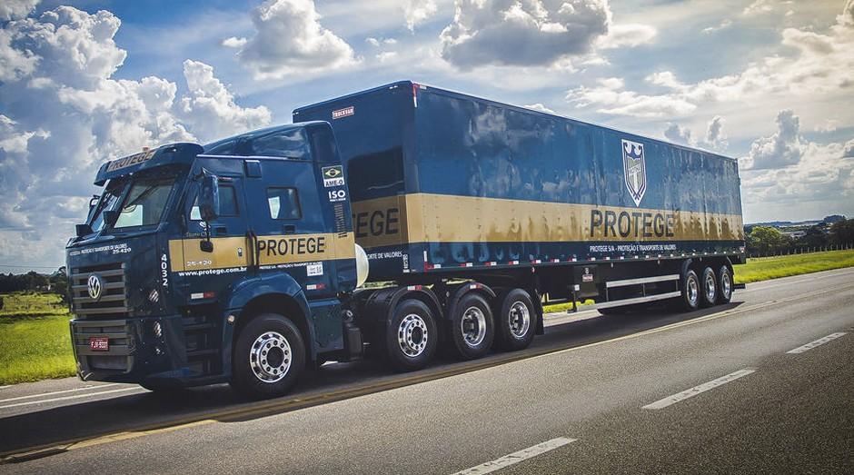 Chamado de Titanis, é o maior caminhão do mercado para essa finalidade (Foto: Divulgação)