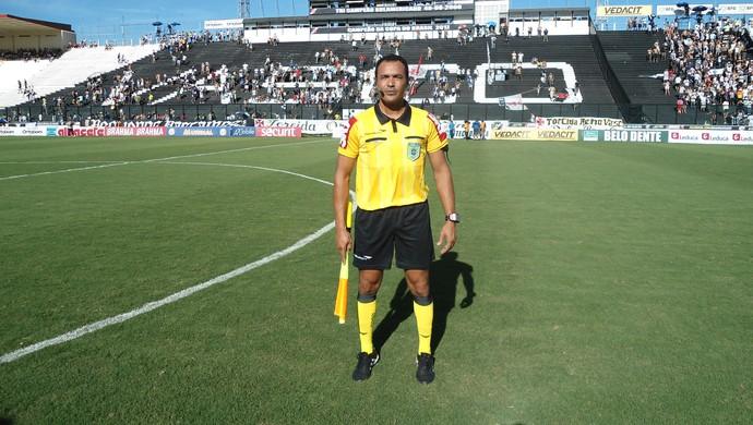 Fábio Pereira vai atuar em jogo das eliminatórias da Copa do Mundo (Foto: Arquivo Pessoal/Fábio Pereira)