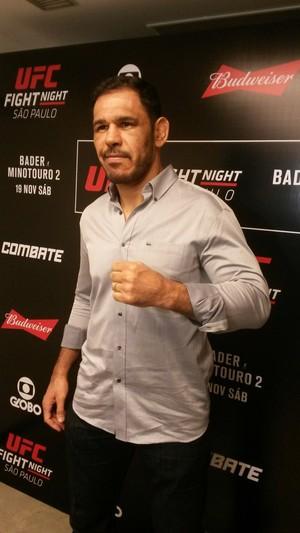 Rogério Minotouro se inspira em Dan Henderson para se manter longevo no MMA (Foto: João da Mata/ Combate.com)