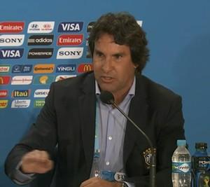 Rodrigo Paiva coletiva seleção brasileira (Foto: Reprodução/Sportv)