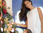 Daniella Sarahyba posa em clima natalino com a filha