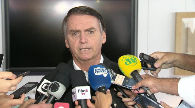Veja as atividades de campanha do candidato à presidência pelo PSL, Jair Bolsonaro