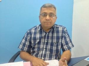 Artur Sotão, diretor do Sindicato das Empresas de Transporte de Passageiros do Amapá  (Foto: Gabriel Dias/G1)