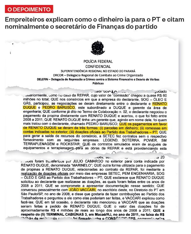 A POLÍCIA EM AÇÃO O ex-diretor Renato Duque, homem de José Dirceu na Petrobras. Ele foi solto na semana passada – e, espera-se, ainda tem muito  a contribuir com  a investigação  (Foto: Geraldo Bubniak/Agb/Estadão Conteúdo)