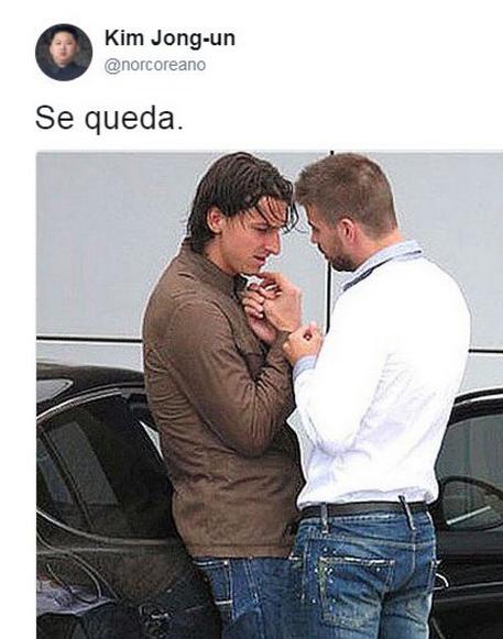 """BLOG: Internautas não perdoam """"Fica"""" de Piqué sobre Neymar e criam memes"""