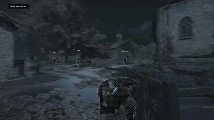 Busque ajuda dos outros personagens em Gears of War 4 (Foto: Reprodução/Murilo Molina)