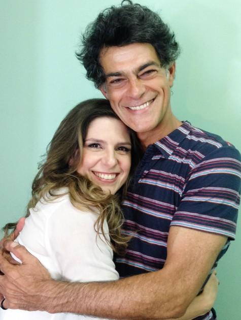 Georgiana Góes e Eduardo Moscovis (Foto: Divulgação)