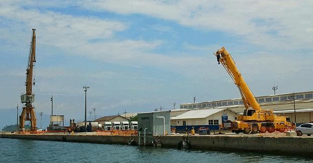 Porto de Angra dos Reis (Foto: G1)