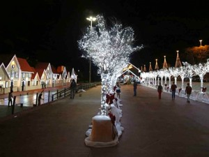 Cidade do Natal em Campo Grande (Foto: Gerson Walber/Prefeitura Municipal)