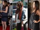 Quase lá! Veja a evolução da barriga de Mila Kunis, grávida do primeiro filho