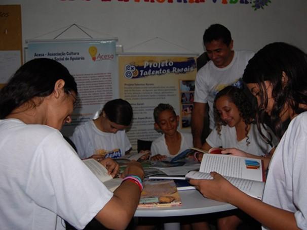 Rodas de leitura (Foto: Divulgação)