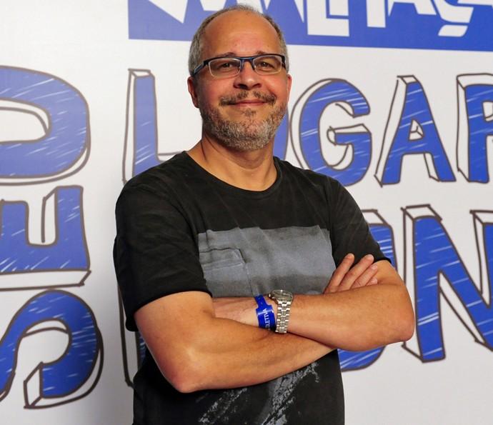 O autor Emanuel Jacobina fala sobre o tema da Aids na trama (Foto: Estevam Avellar/TV Globo)