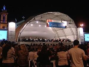 Orquestra Uberaba (Foto: Reprodução/TV Integração)