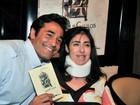Luciano Szafir lamenta morte de irmã: 'Maior guerreira que conheci'