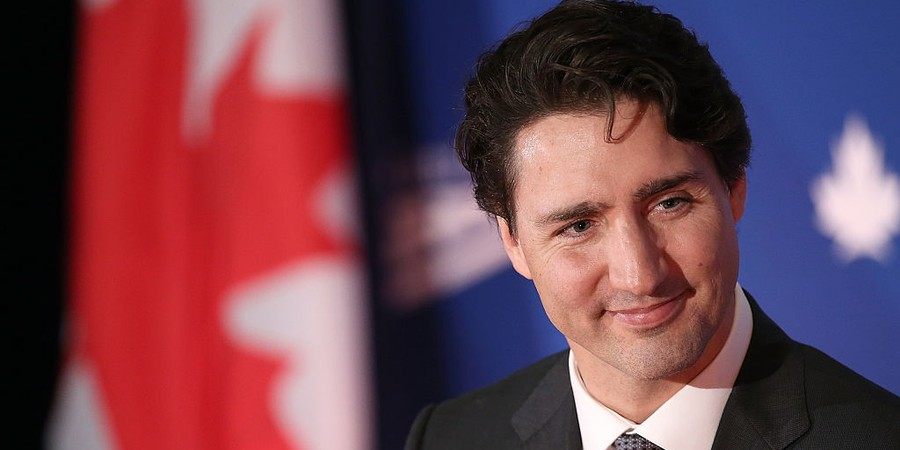 O primeiro-ministro canadense, Justin Trudeau (Foto: Win McNamee/Getty Images)