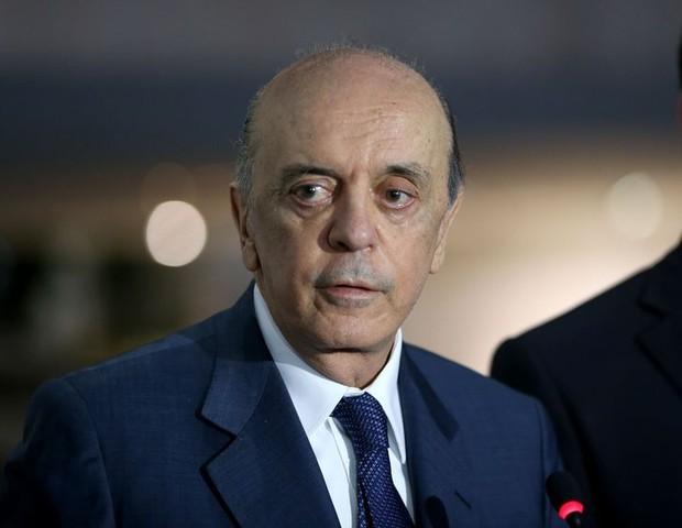 José Serra: fora por motivos de saúde (Foto: Divulgação/Agência Brasil)