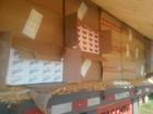 PRF apreende carreta com 350 mil maços de cigarros contrabandeados
