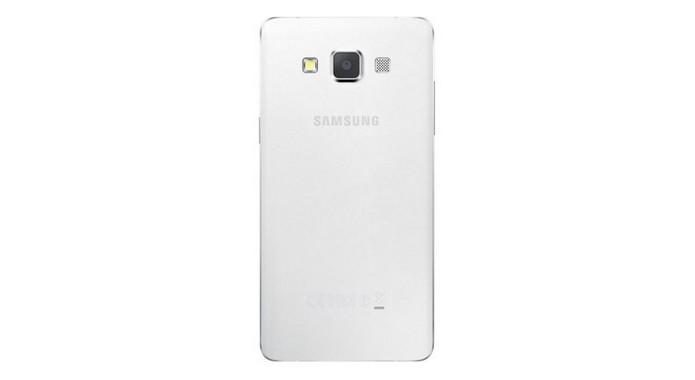 Samsung Galaxy A5 em versão branca (Foto: Reprodução/Phone Arena)