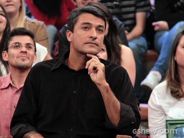 Sandro Ricci participa da gravação do programa Altas Horas (Foto: TV Globo/Altas Horas)