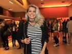 Karina Bacchi, Ticiane Pinheiro e outros famosos assistem filme em São Paulo