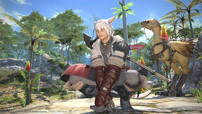 O primeiro Final Fantasy 14 (Foto: Divulgação)