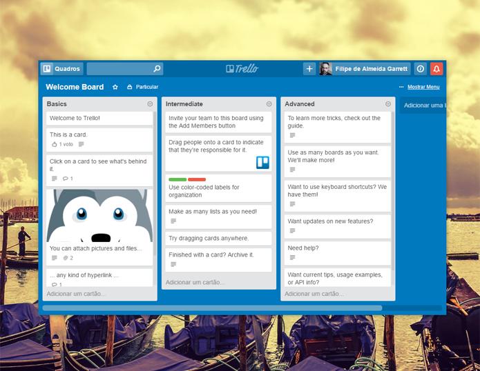 Integrations funcionam como plugins. Há opções que permitem rodar o Trello como se fosse um app do desktop, por exemplo (Foto: Reprodução/Filipe Garrett)