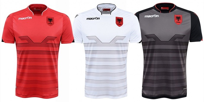 Camisas Eurocopa albania