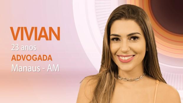 Vivian é uma das participantes do BBB 17 (Foto: Divulgação Globo Livros)