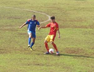 Jogo disputado entre Jabaquara e Mauaense (Foto: Fúlvio Feola)