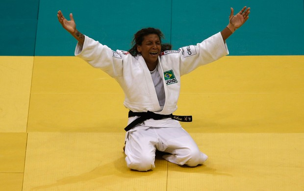 Rafaela Silva Judô mundial (Foto: Reuters)