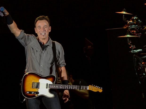 Bruce Springsteen no Rock in Rio (Foto: Flavio Moraes/G1)