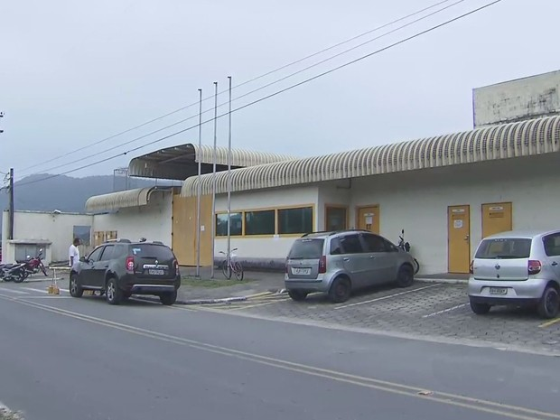 Fundação Casa em Mongaguá, litoral de São Paulo (Foto: Reprodução / TV Tribuna)