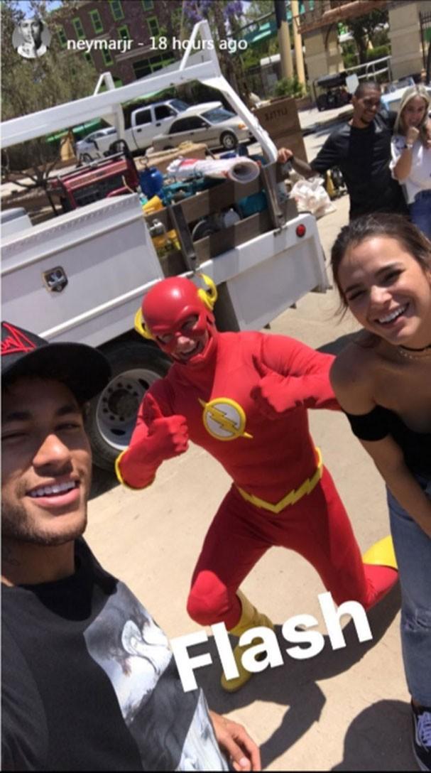 Neymar e Marquezine se divertem em viagem aos Estados Unidos (Foto: Reprodução/Instagram)