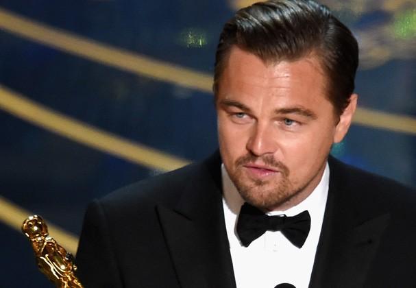 Leonardo DiCaprio levou a melhor na categoria Melhor Ator' (Foto: Getty Images)