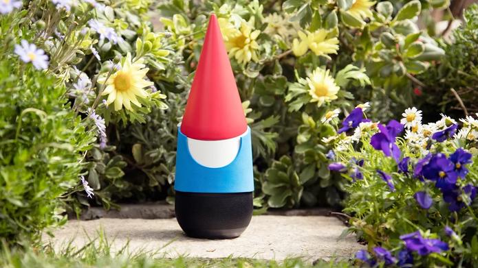 Google Gnome; o gnomo do Google que resolve tudo no seu jardim (Foto: Divulgação/Google)
