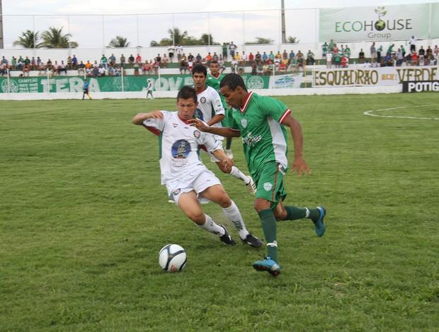 Alecrim x Santa Cruz-RN, no Ninho do Periquito (Foto: Gabriel Peres/Divulgação)