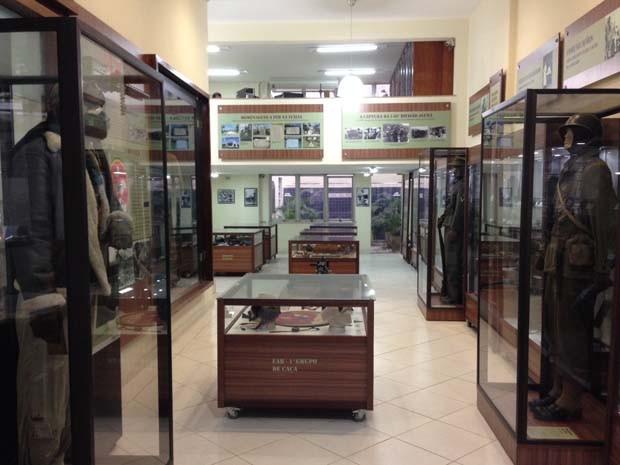 Museu que conta a história da luta dos soldados brasileiros na Itália  (Foto: Káthia Mello/G1 Rio)