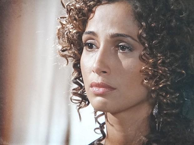 Isabel termina o noivado para preservar Zé Maria (Foto: Lado a Lado / TV Globo)