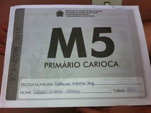 Apostila distribuída em escolas do Rio erra capitais de estados do NE Capa_apostila